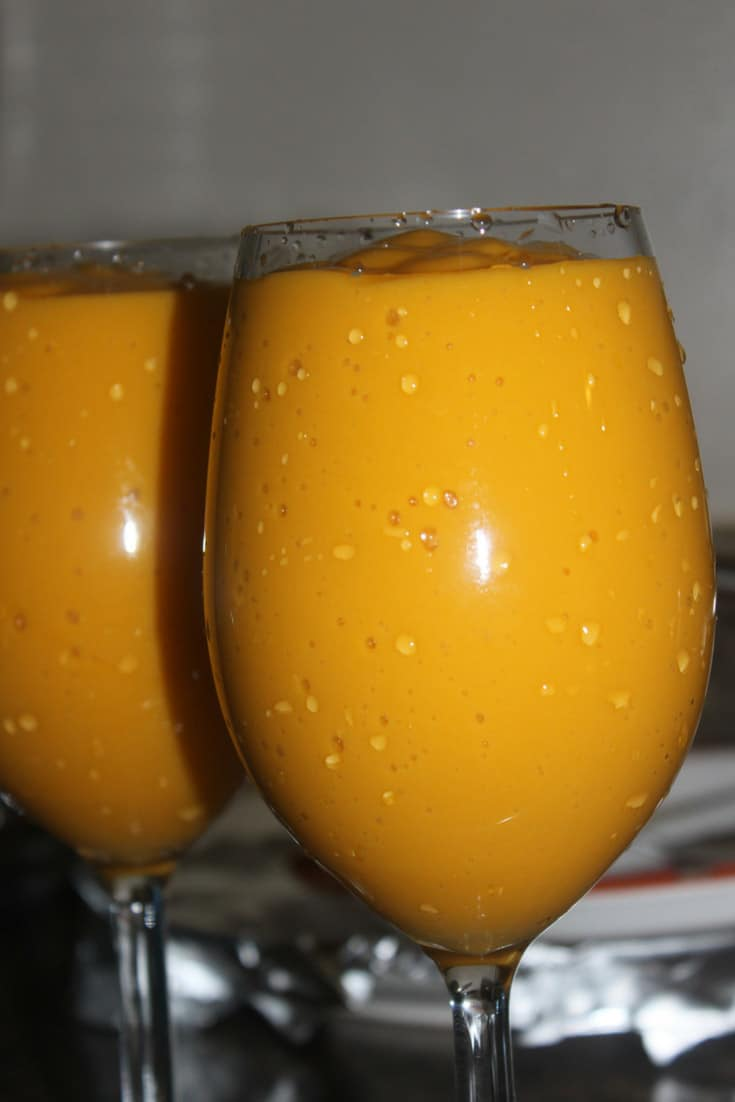 Best Mango Lassi Recipe Using Mango Pulp – Authentic Indian Mango Lassi Recipe – Easy Mango Smoothie Recipe