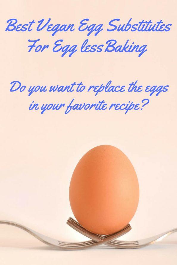 Best Vegan Egg Substitute baking