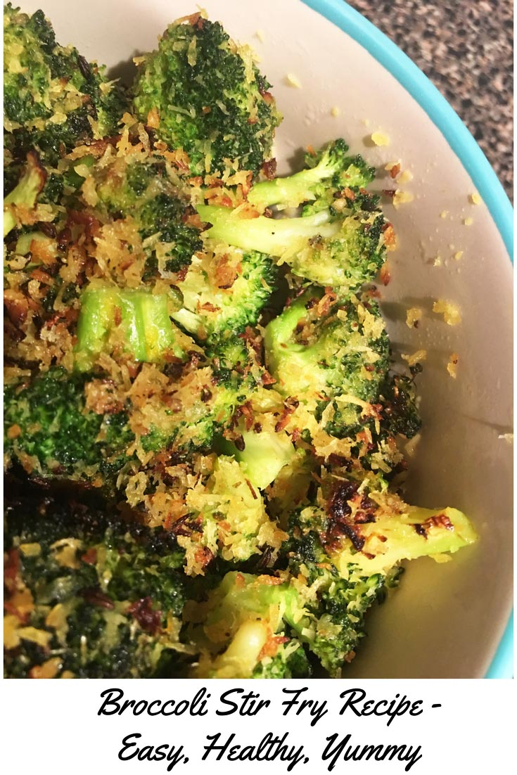 Broccoli Stir Fry Recipe Vegetarian