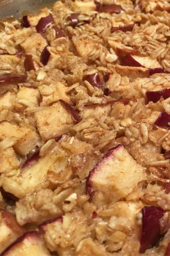 Easy Baked Apple Oatmeal Recipe Pictures