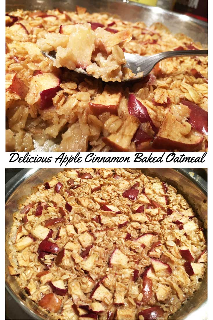 Easy Baked Apple Oatmeal Recipe – Healthy Baked Apple Oatmeal Recipe