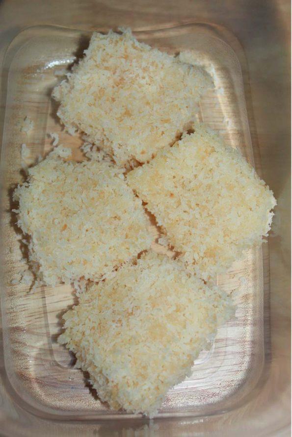 fresh coconut burfi recipe