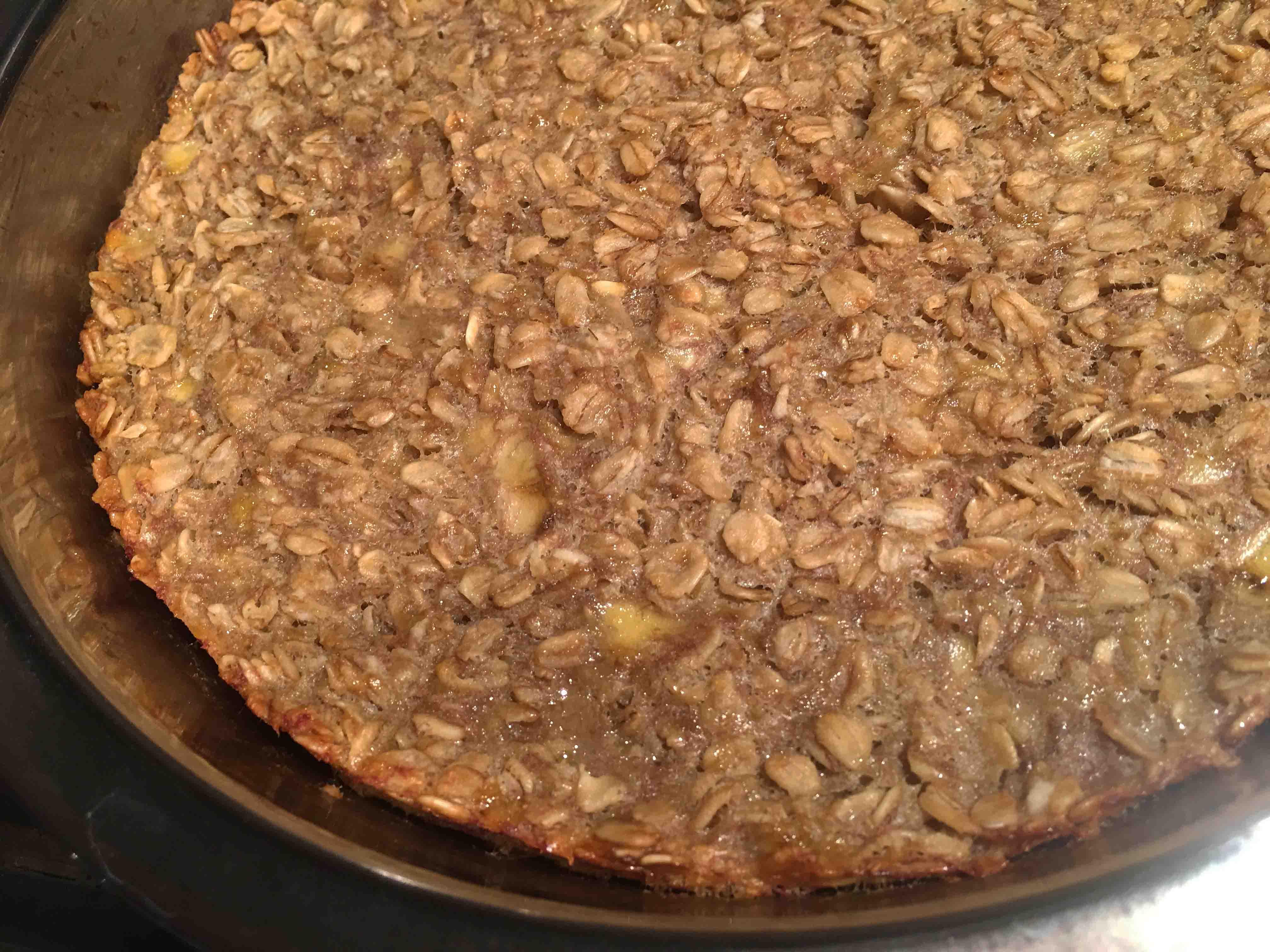 Healthy Baked Oatmeal Breakfast Recipe