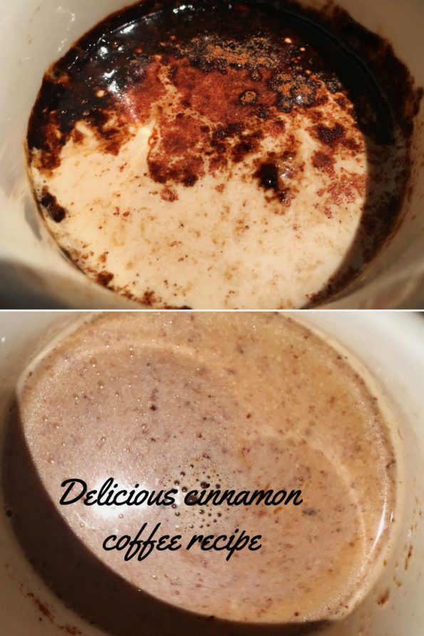 homemade cinnamon coffee recipe