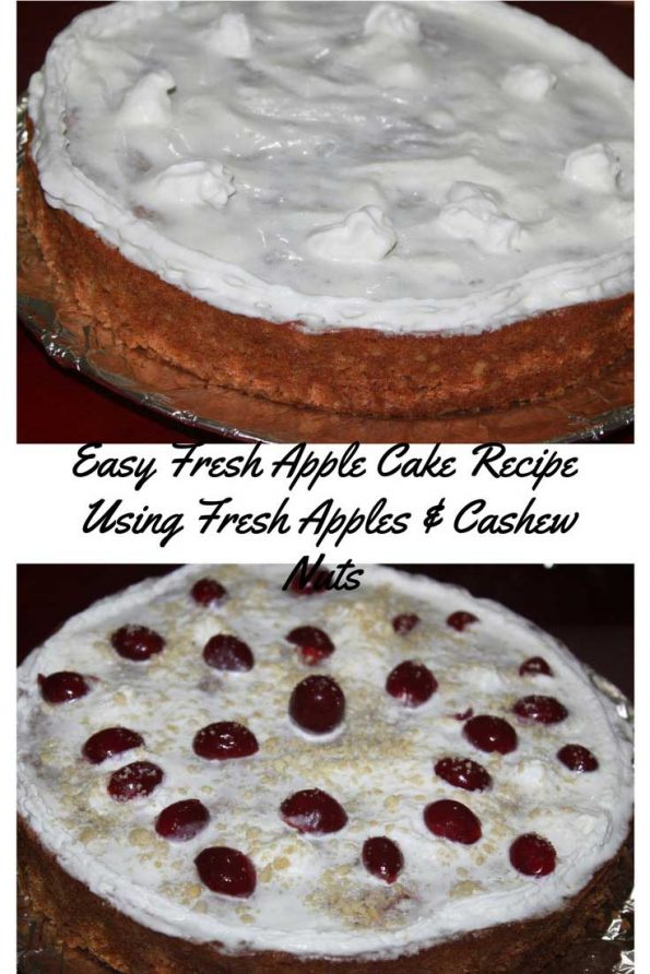 recipe for apple nut cake