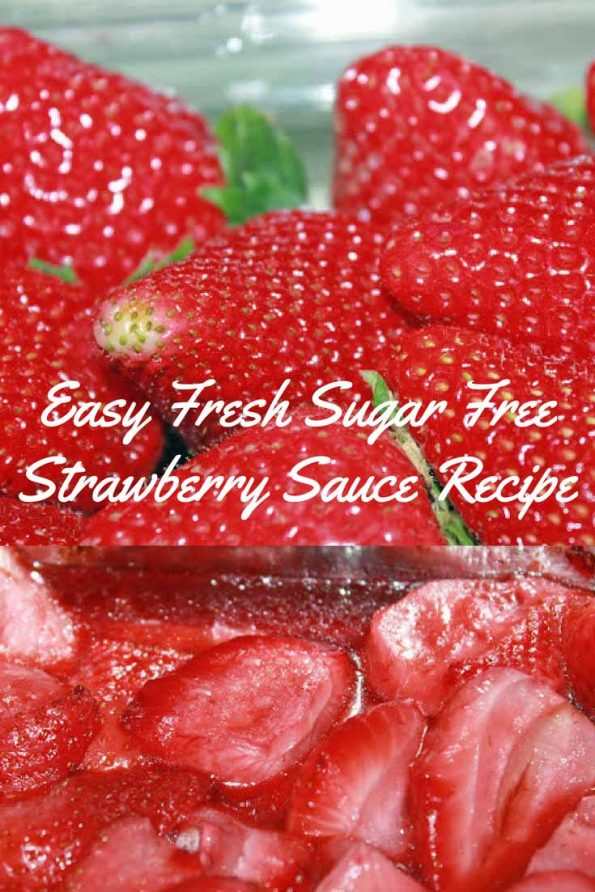 best sugar free strawberry sauce recipe