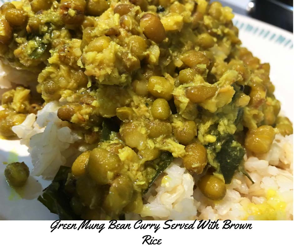 Cherupayar Curry Kerala Style Recipe Using Coconut – Green Grams/Green Mung Bean Curry Kerala Style Recipe