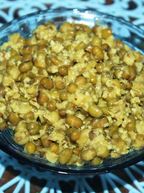 cherupayar thoran recipe kerala style