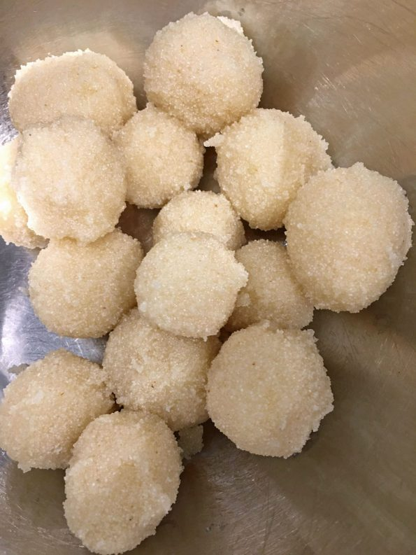 how to make rava ladoo