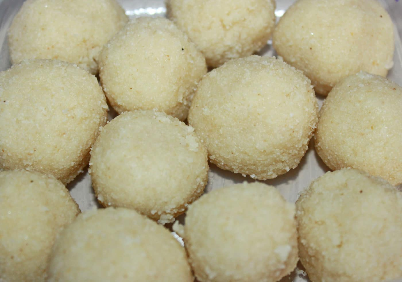 rava ladoo without coconut