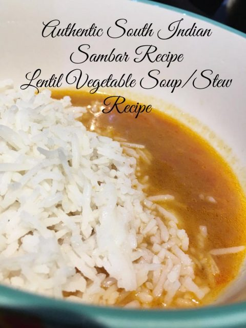 Authentic South Indian Sambar Recipe without coconut