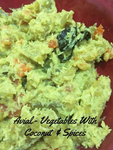 avial recipe kerala style vegetarian lunch