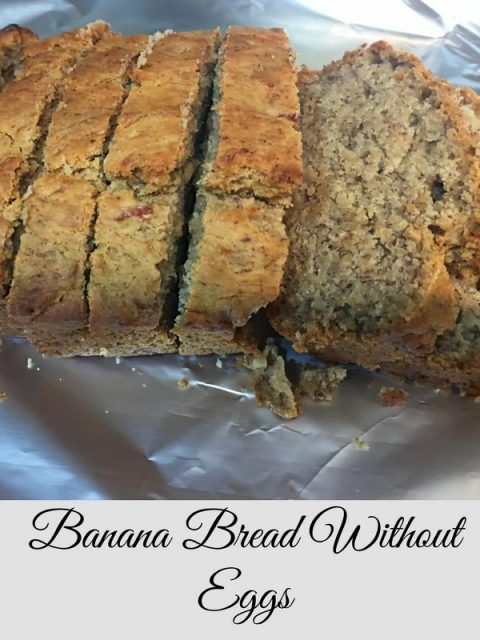 banana bread recipe without eggs