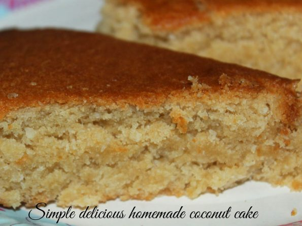 easy homemade coconut cake recipe from scratch