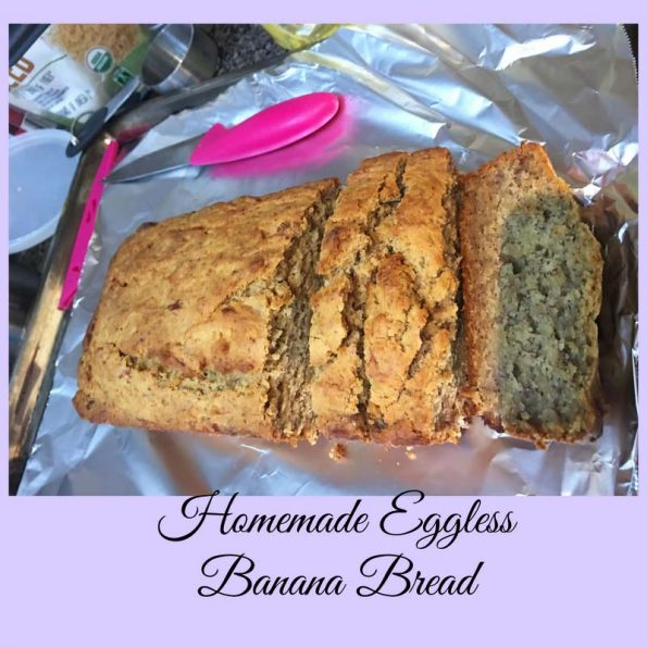 homemade banana bread recipe without eggs