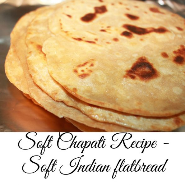 how to make chapati soft