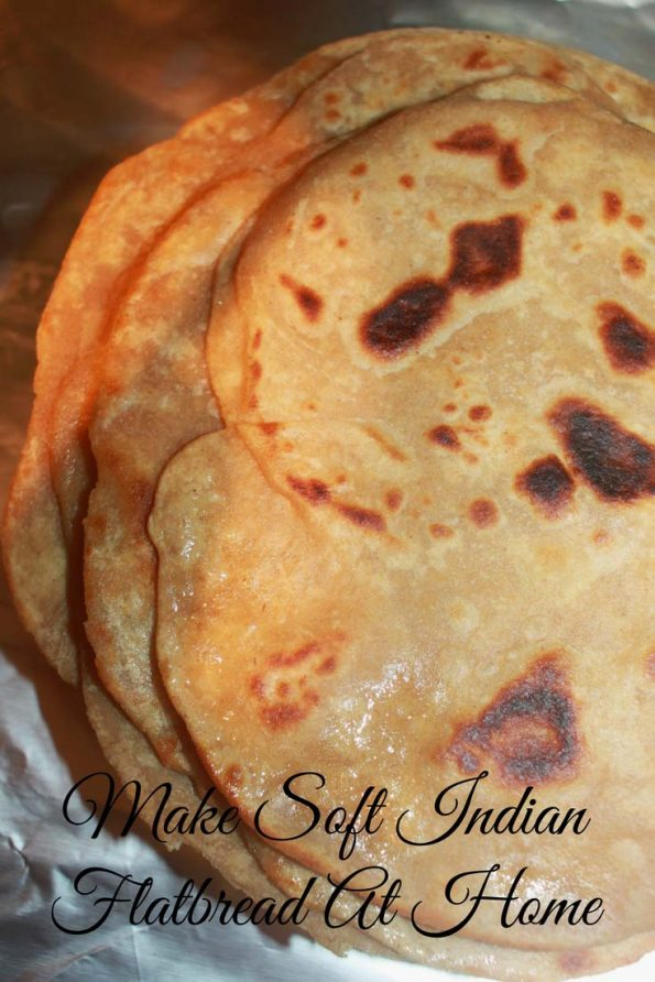 how to make chapati soft image
