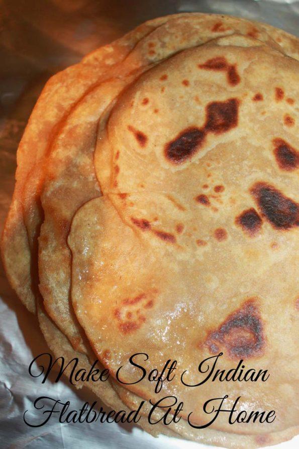 how to make chapati soft image