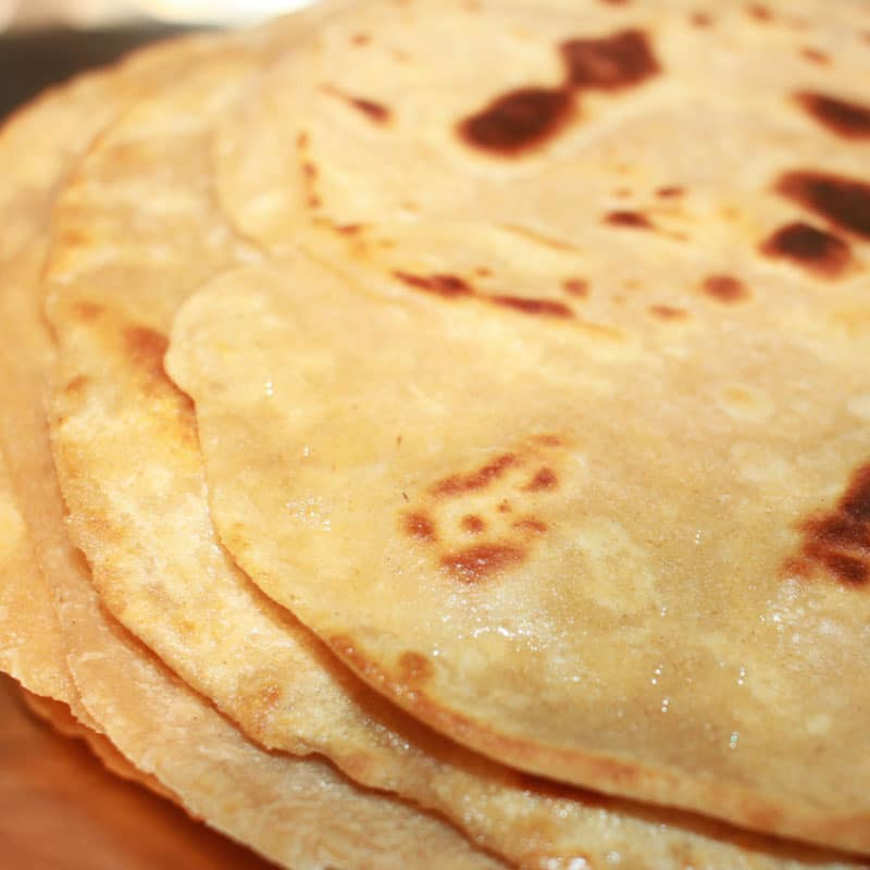 how to make chapati soft indian flatbread recipe