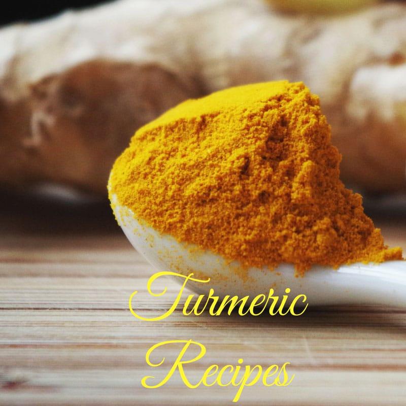 recipes using turmeric spice
