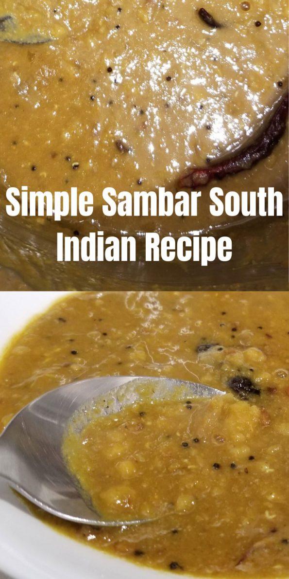 sambar south indian recipe