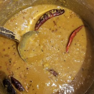 sambar without vegetables in instant pot