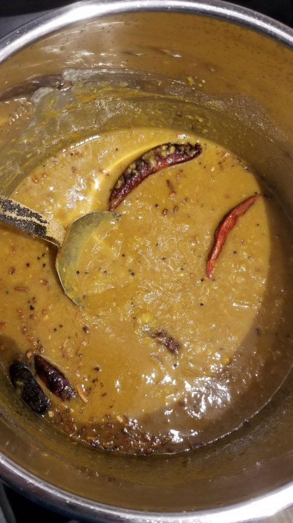 sambar instant pot