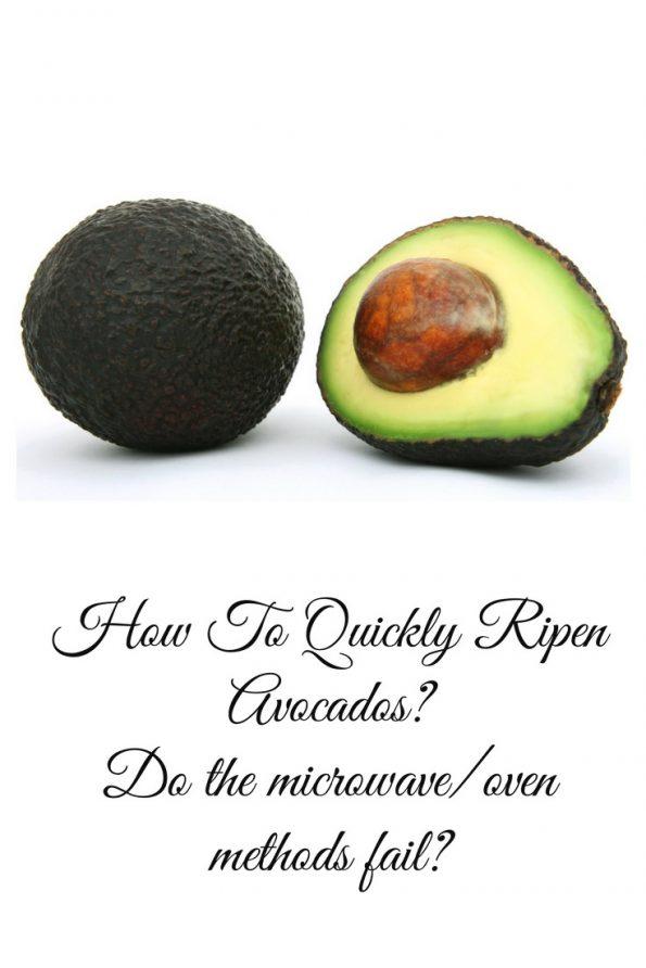 speed up ripening avocados quick way ripen avocados