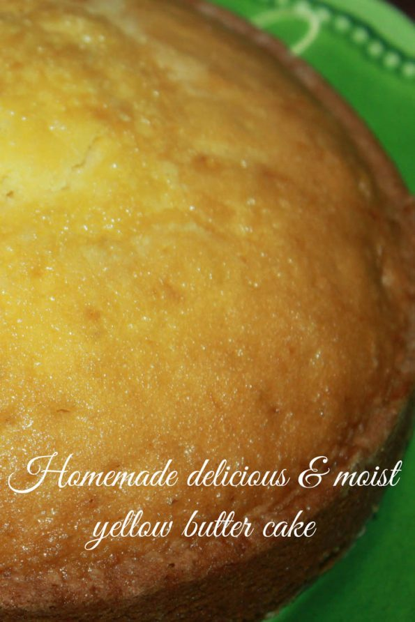 super moist yellow cake recipe scratch image