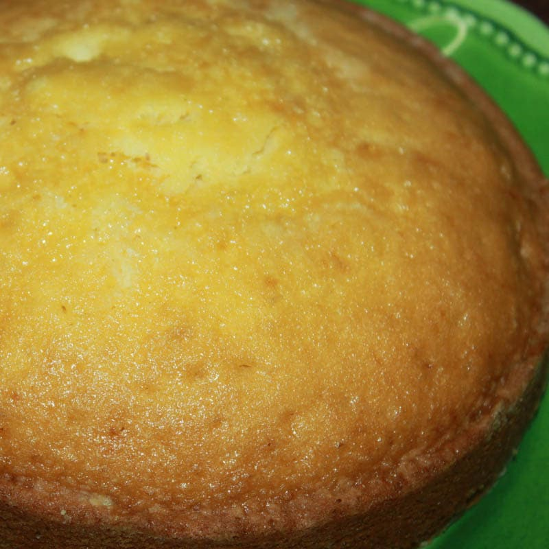 Super Moist Dense Yellow Cake Recipe
