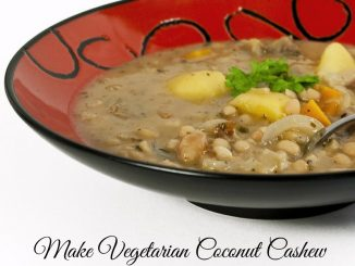 vegetarian coconut curry recipe