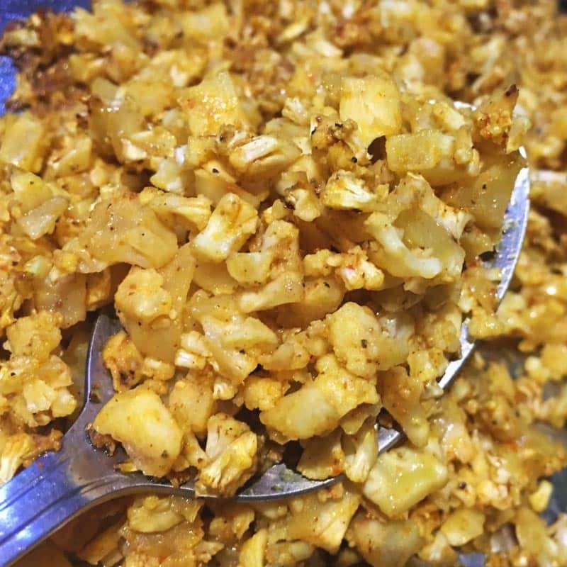 Cauliflower Crumbles Recipe