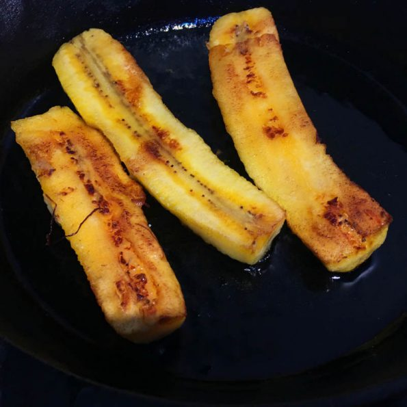 Make Fried Sweet Plantains
