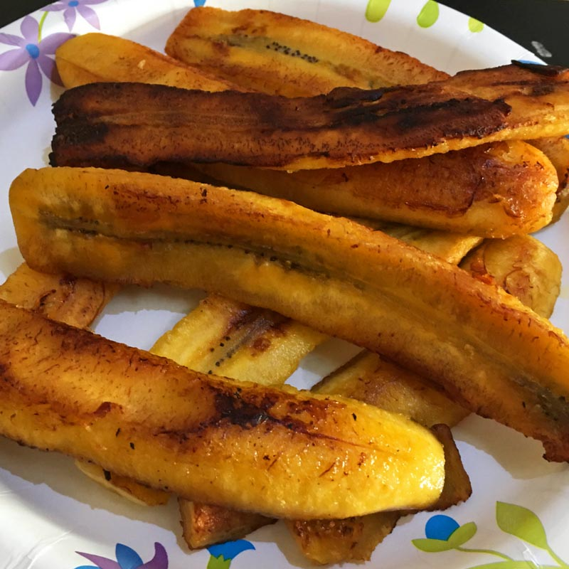Make Fried Sweet Plantains – Sweet Fried Plantains Recipe – Quick Dessert For Breakfast