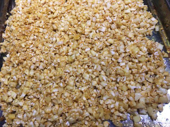 baked Cauliflower Crumbles Recipe healthy