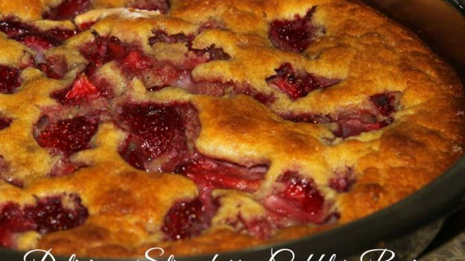 best strawberry cobbler recipe easy