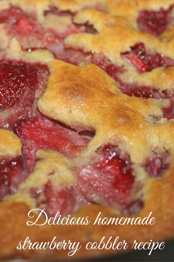 best strawberry cobbler recipe scratch