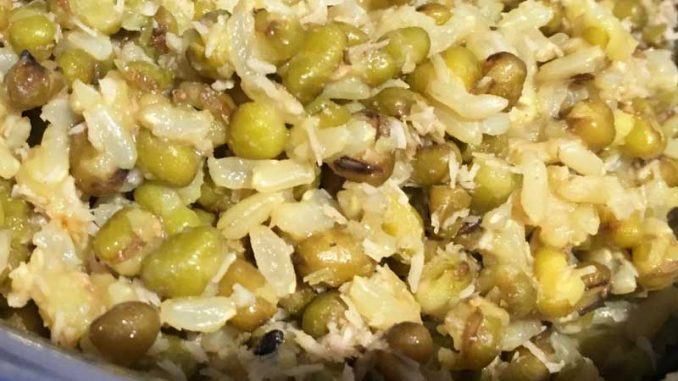 brown rice khichdi recipe green moong dal kitchari