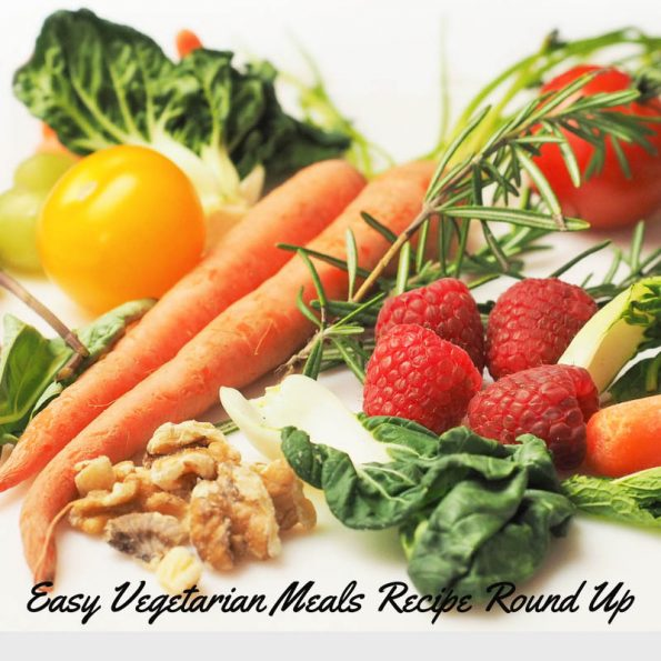 easy vegetarian meal recipes