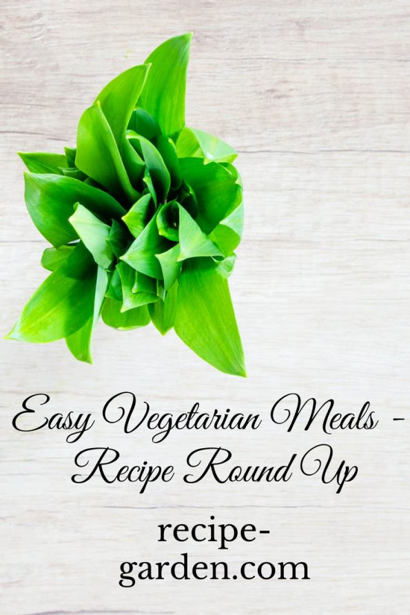 easy vegetarian meal recipes round up
