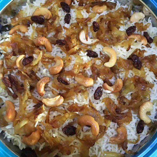 ghee rice recipe images