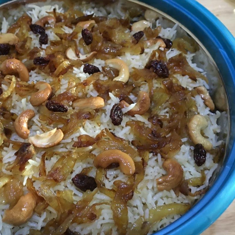ghee rice recipe kerala nei choru neychoru