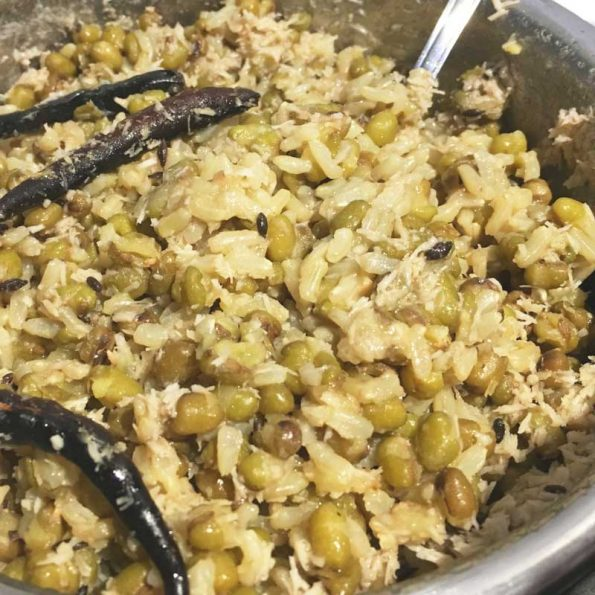 green moong dal brown rice khichdi recipe