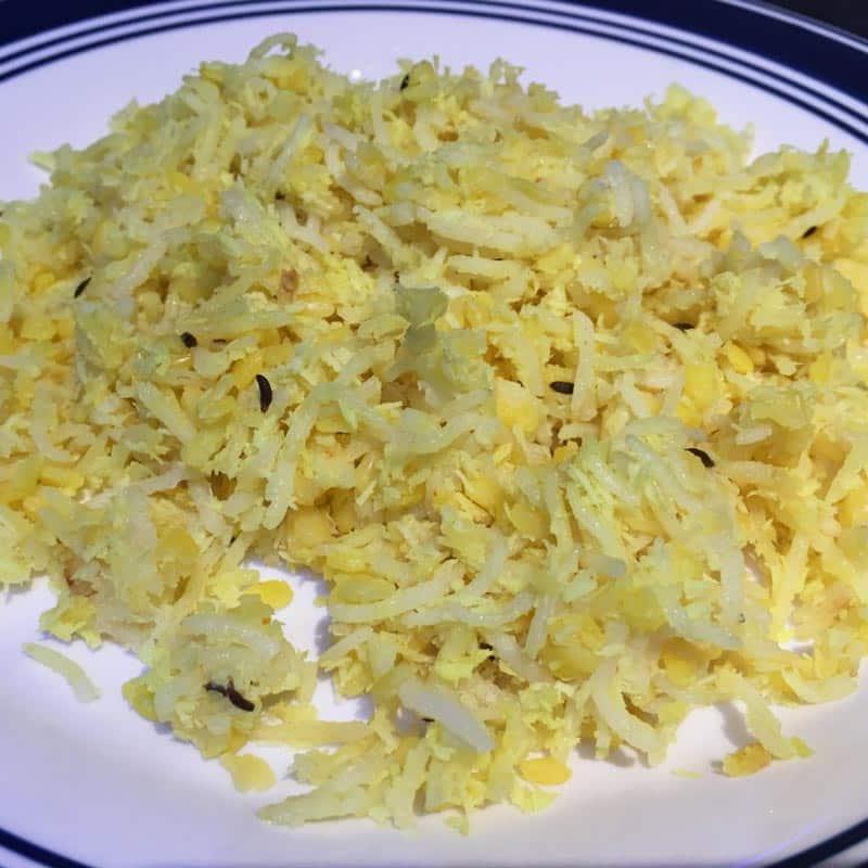 healthy easy lentils rice recipe indian
