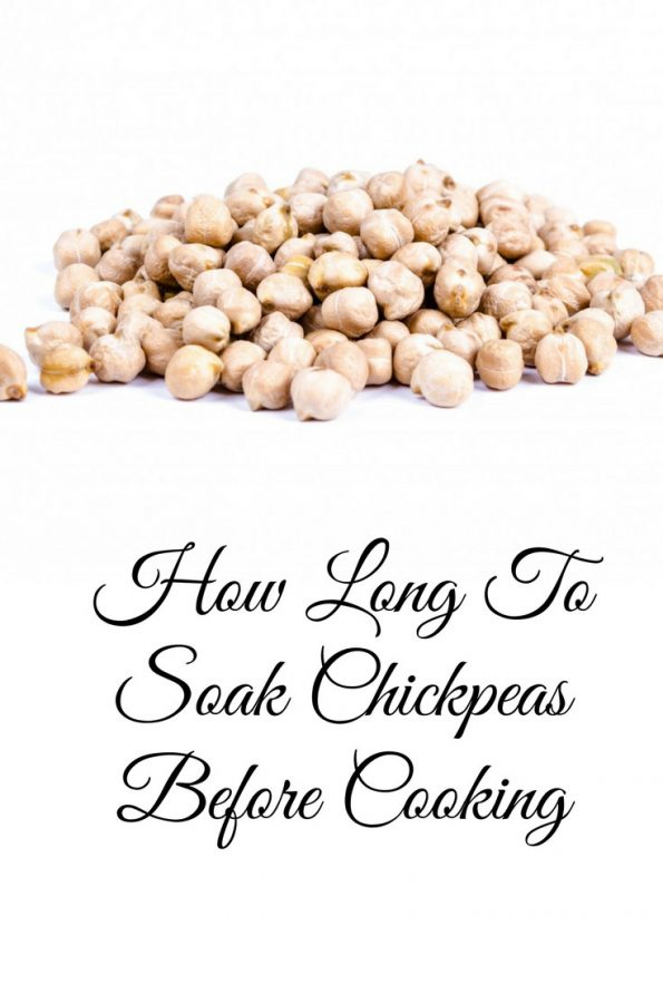how long to soak chickpeas for recipes