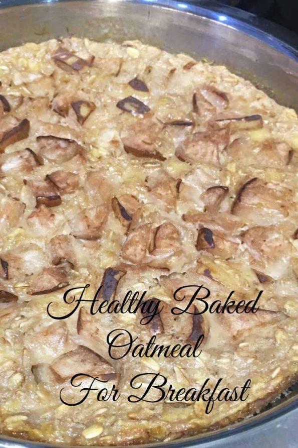 pear baked oatmeal recipe