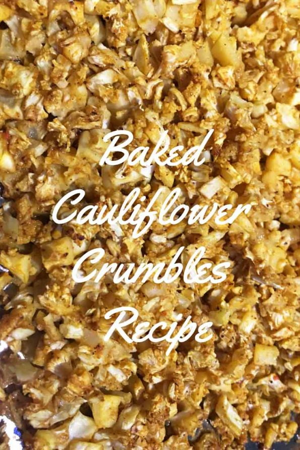 roasted cauliflower crumbles recipe easy