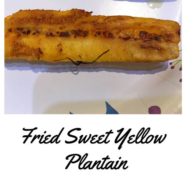 sweet fried plantains recipe