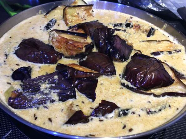 Eggplant Curry south indian style recipe