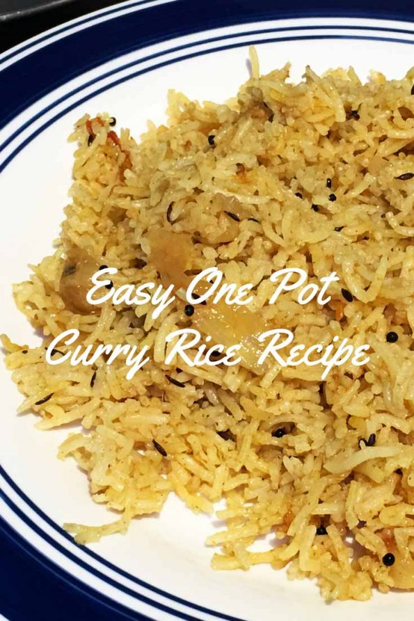 easy one pot indian curry rice recipe